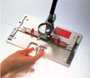 テープ心線用光ファイバ スプライス