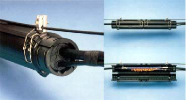 架空通信ケーブル用接続キット スリッククロージャー